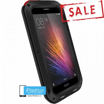 Чехол Love Mei Powerful для Xiaomi Mi5 Black черный
