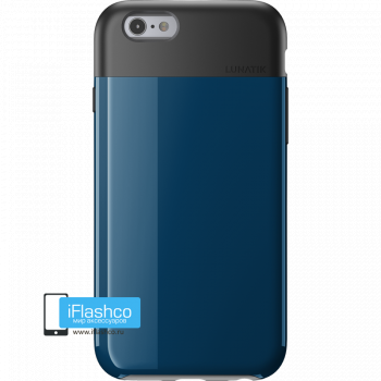 Чехол Lunatik Flak iPhone 6/6s Dark Blue синий