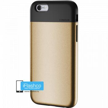 Чехол Lunatik Flak iPhone 6 Plus / 6s Plus Black Gold золотой