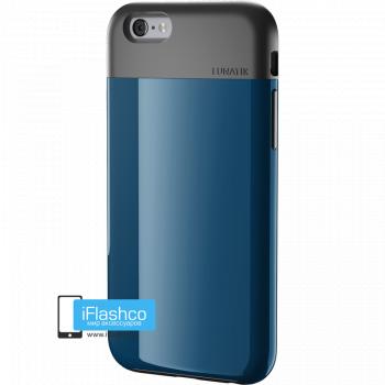 Чехол Lunatik Flak iPhone 6 Plus / 6s Plus Dark Blue синий