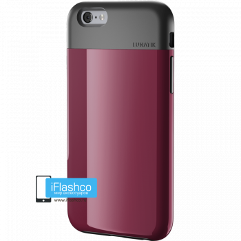 Чехол Lunatik Flak iPhone 6 Plus / 6s Plus Dark Raspberry темно-малиновый