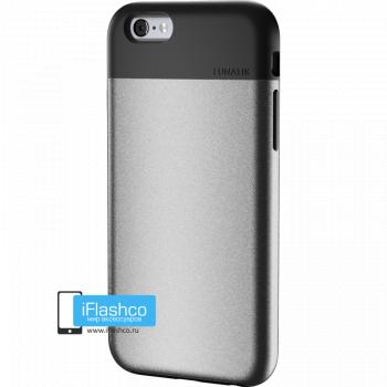 Чехол Lunatik Flak iPhone 6 Plus / 6s Plus Silver серебристый