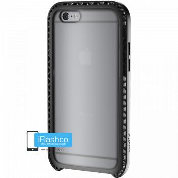 Чехол Lunatik Seismik iPhone 6/6s Black Clear черный прозрачный