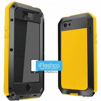 Чехол Lunatik Taktik Extreme iPhone 5 / 5S / SE черный с оранжевым