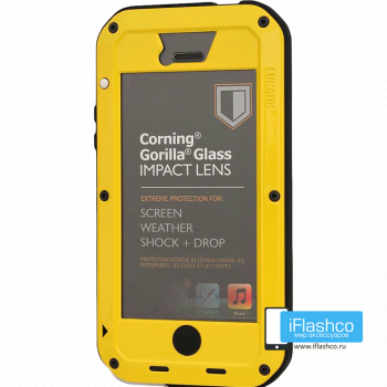 Чехол Lunatik Taktik Extreme iPhone 5 Yellow желтый
