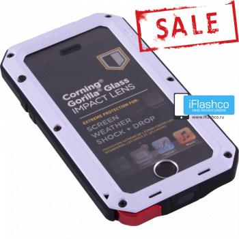 Чехол Lunatik Taktik Extreme iPhone 5S / SE белый