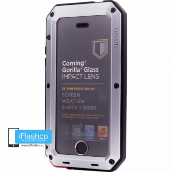 Чехол Lunatik Taktik Extreme iPhone 5S / SE серый