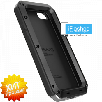 Чехол Lunatik Taktik Strike iPhone 5 / 5S / SE черный