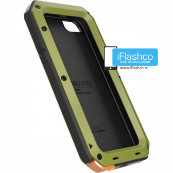 Чехол Lunatik Taktik Strike iPhone 5 / 5S / SE зеленый