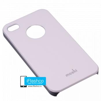 Чехол Moshi iGlaze Slim Case для iPhone 4 / 4S белый