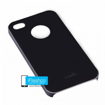 Чехол Moshi iGlaze Slim Case для iPhone 4 / 4S черный