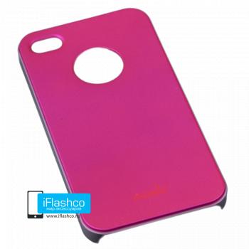 Чехол Moshi iGlaze Slim Case для iPhone 4 / 4S малиновый