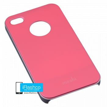 Чехол Moshi iGlaze Slim Case для iPhone 4 / 4S розовый