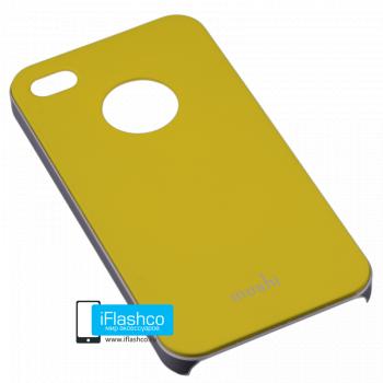 Чехол Moshi iGlaze Slim Case для iPhone 4 / 4S желтый