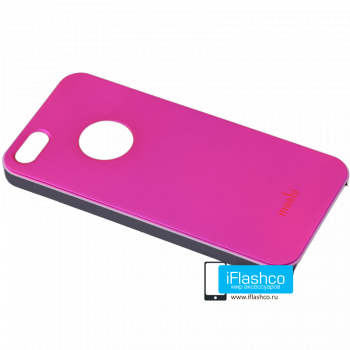Чехол Moshi iGlaze Slim Case для iPhone 5 / 5S малиновый