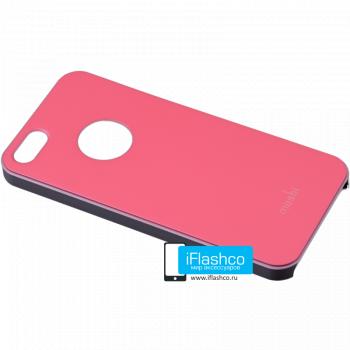 Чехол Moshi iGlaze Slim Case для iPhone 5 / 5S розовый