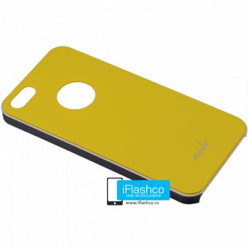 Чехол Moshi iGlaze Slim Case для iPhone 5 / 5S желтый
