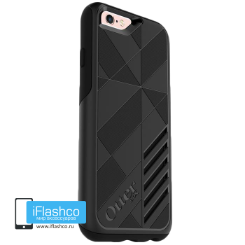 Чехол OtterBox Achiever для iPhone 6 / 6s Black Powder черный