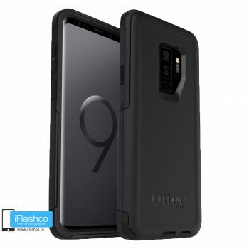 Чехол Otterbox Commuter Black для Samsung Galaxy S9+ черный