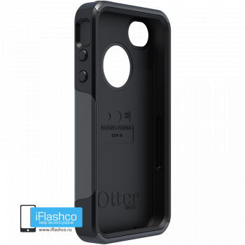 Чехол OtterBox Commuter для iPhone 4 / 4s Black черный