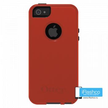 Чехол OtterBox Commuter для iPhone 5 / 5s / SE Bolt оранжевый