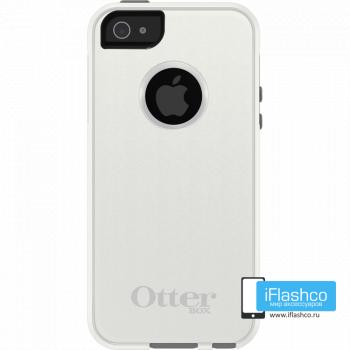 Чехол OtterBox Commuter для iPhone 5 / 5s / SE Glacier серый