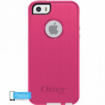 Чехол OtterBox Commuter для iPhone 5 / 5s / SE Pink / White