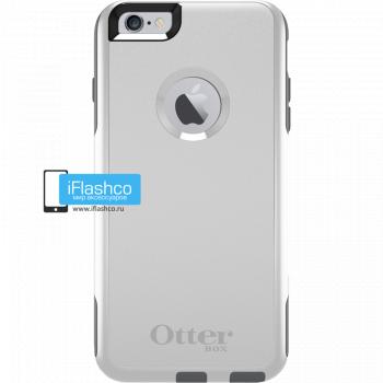 Чехол OtterBox Commuter для iPhone 6 Plus / 6s Plus Glacier серый