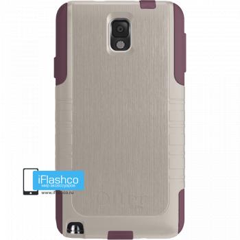 Чехол OtterBox Commuter для Samsung Galaxy Note 3 Merlot серый с бордовым