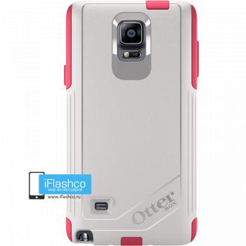 Чехол OtterBox Commuter для Samsung Galaxy Note 4 Neon Rose серый с розовым