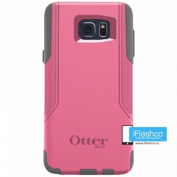 Чехол OtterBox Commuter для Samsung Galaxy Note 5 Pink Shadow розовый с серым