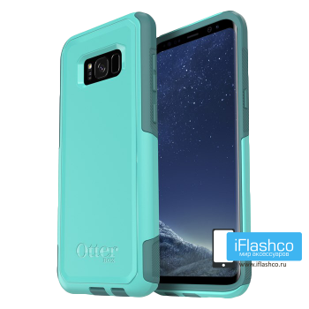 Чехол OtterBox Commuter для Samsung Galaxy S8+ Aqua Mint Way голубой