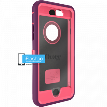Чехол OtterBox Defender для iPhone 6 / 6s Crushed Damson фиолетовый с розовым