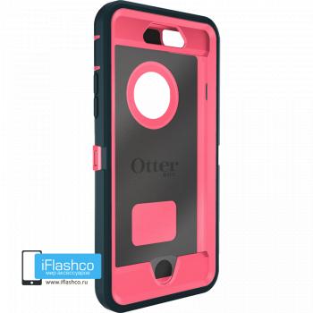 Чехол OtterBox Defender для iPhone 6 / 6s Dark Jade / Blaze Pink темно-синий с розовым