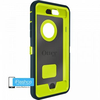 Чехол OtterBox Defender для iPhone 6 / 6s Dark Jade / Citron Green темно-синий с салатовым