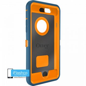 Чехол OtterBox Defender для iPhone 6 / 6s Deep Water Blue / Blaze Orange синий с оранжевым