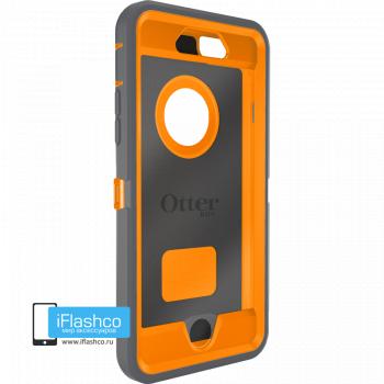 Чехол OtterBox Defender для iPhone 6 / 6s Gunmetal Grey / Blaze Orange серый с оранжевым