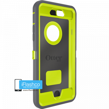 Чехол OtterBox Defender для iPhone 6 / 6s Gunmetal Grey / Citron Green серый с салатовым