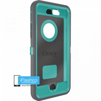Чехол OtterBox Defender для iPhone 6 / 6s Gunmetal Grey / Light Teal серый с голубым