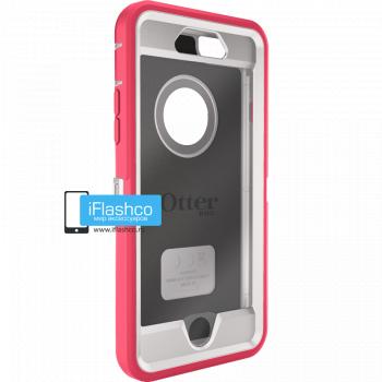 Чехол OtterBox Defender для iPhone 6 / 6s Neon Rose розовый с белым