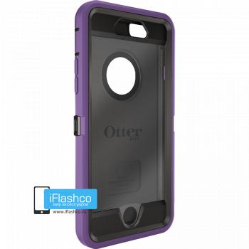 Чехол OtterBox Defender для iPhone 6 / 6s Opal Purple / Black фиолетовый с черным