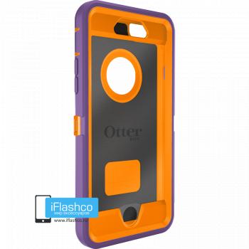 Чехол OtterBox Defender для iPhone 6 / 6s Opal Purple / Blaze Orange фиолетовый с оранжевым