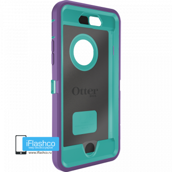 Чехол OtterBox Defender для iPhone 6 / 6s Opal Purple / Light Teal фиолетовый с голубым