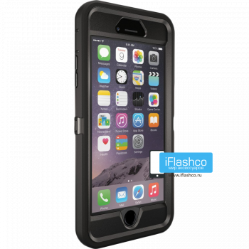 Чехол OtterBox Defender для iPhone 6 Plus / 6s Plus Black черный