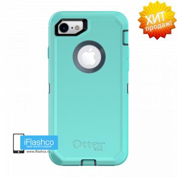 Чехол OtterBox Defender для iPhone 7 / 8 Borealis голубой