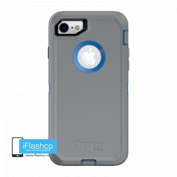 Чехол OtterBox Defender для iPhone 7 / 8 Marathoner серый