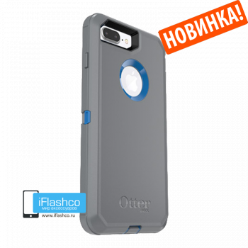 Чехол OtterBox Defender для iPhone 7 Plus / 8 Plus Marathoner серый