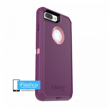 Чехол OtterBox Defender для iPhone 7 Plus / 8 Plus Vinyasa фиолетовый