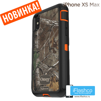 Чехол OtterBox Defender для iPhone XS Max RealTree Edge