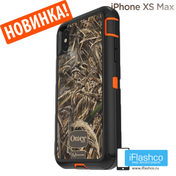 Чехол OtterBox Defender для iPhone XS Max RealTree Max 5HD